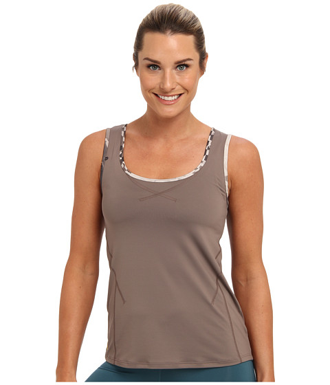 Lole - Aspect Scooped Neck Tank Top (Iron) Women
