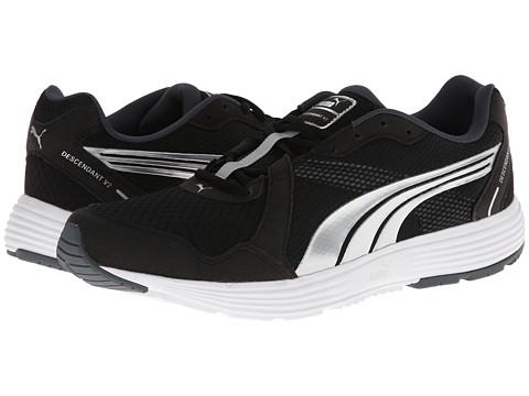 PUMA - Descendant v2 (Black/Puma Silver) Men's Shoes