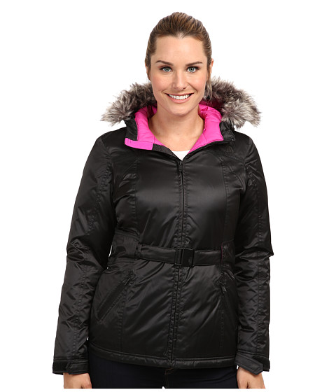 The North Face - Greenland Jacket (Shiny TNF Black) Women's Coat