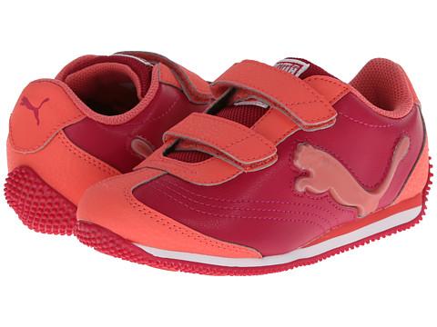 Puma Kids - Speeder Illuminescent V (Toddler/Little Kid/Big Kid) (Cerise/Dubarry) Girls Shoes
