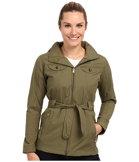 The North Face - K Jacket (Burnt Olive Green) Women
