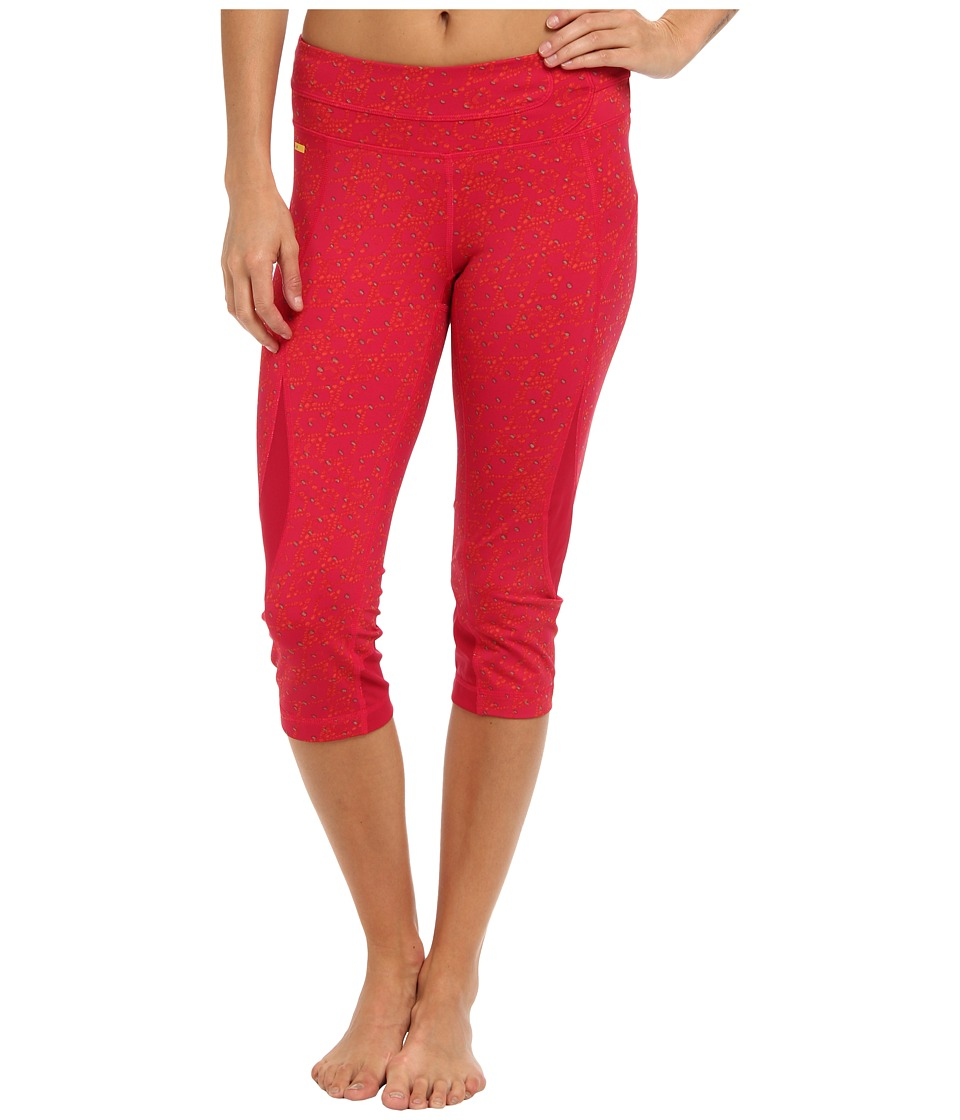 Lole - Run Capri (Red Sea Basket Gem) Women's Capri