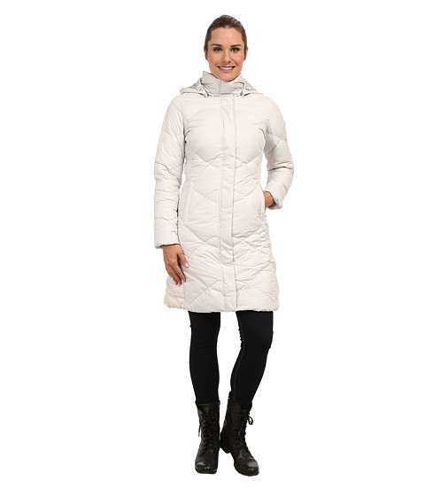 The North Face - Miss Metro Parka (Moonlight Ivory) Women's Coat
