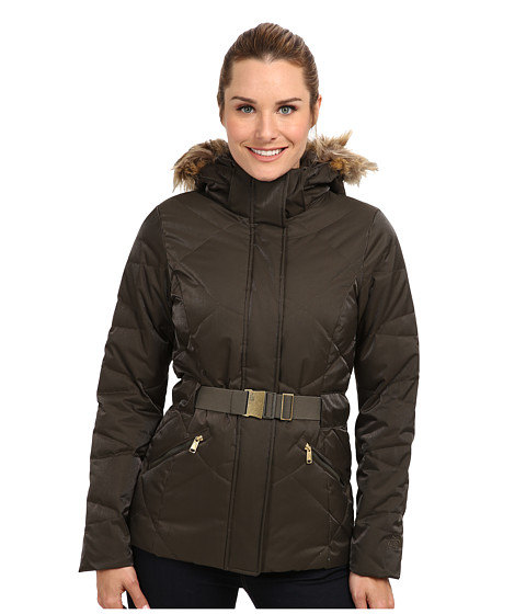The North Face - Metrolina Jacket (Black Ink Green) Women's Coat