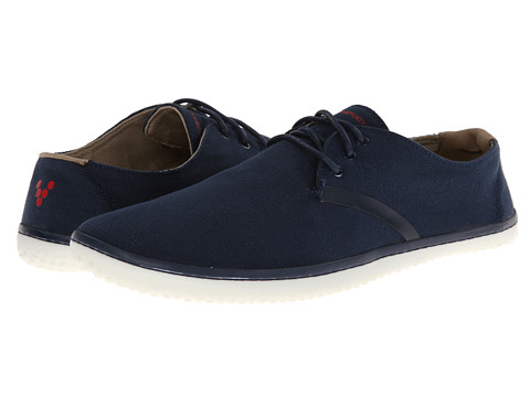 Vivobarefoot - Ra II (Navy Canvas) Men's Shoes