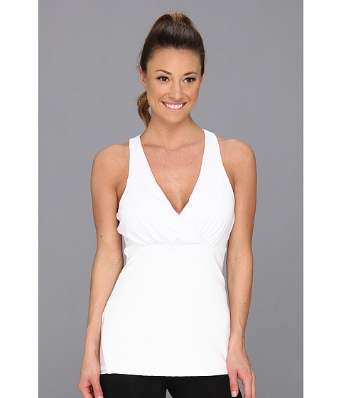 MSP by Miraclesuit - Essentials Tummy Control Crossover Tank (White) Women