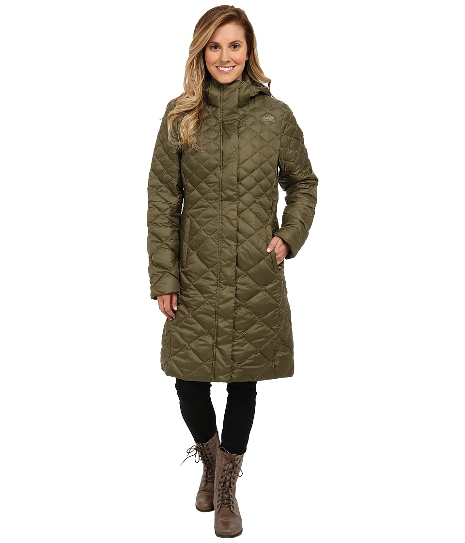 The North Face - Transit Parka (Burnt Olive Green) Women