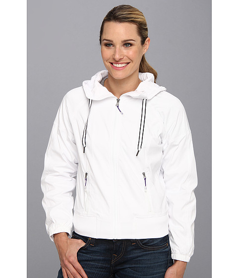 MSP by Miraclesuit - Necessities Hooded Woven Jacket (White) Women