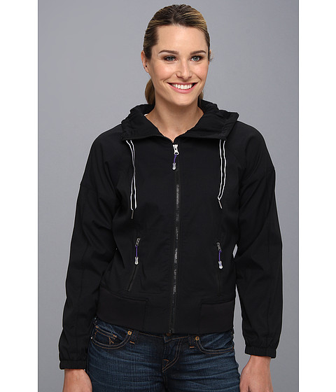 MSP by Miraclesuit - Necessities Hooded Woven Jacket (Black) Women's Jacket