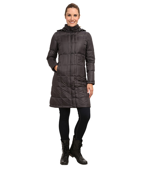 The North Face - Metropolis Down Parka (Graphite Grey) Women's Coat