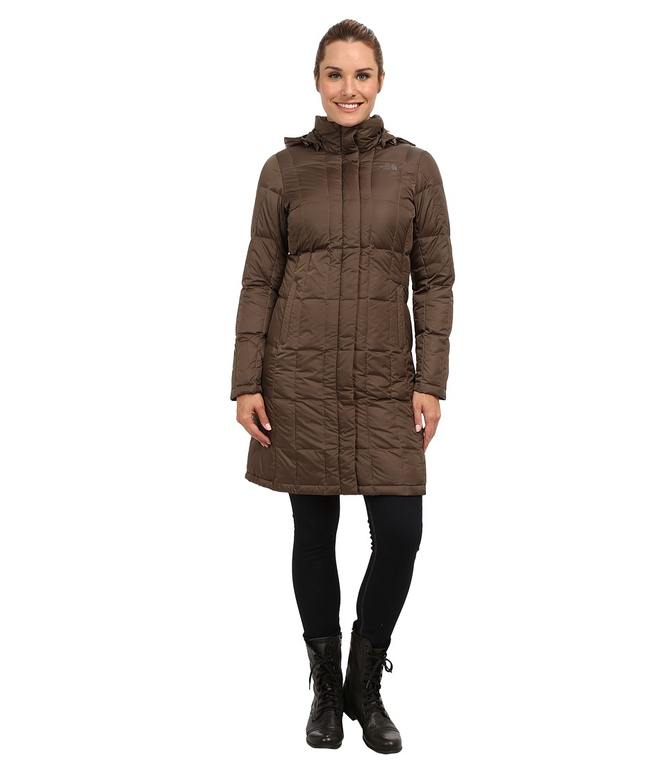 The North Face - Metropolis Down Parka (Weimaraner Brown) Women's Coat