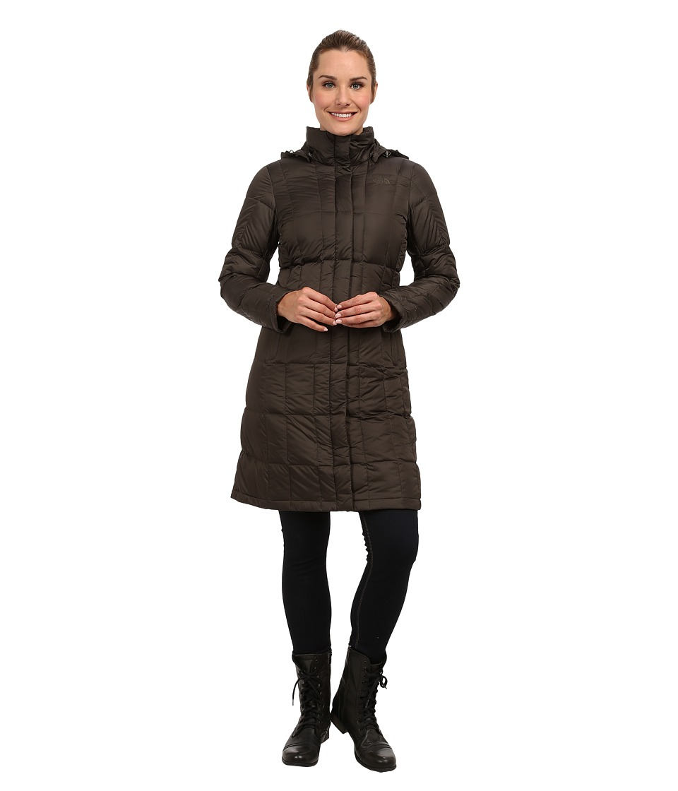 The North Face - Metropolis Down Parka (Black Ink Green) Women's Coat
