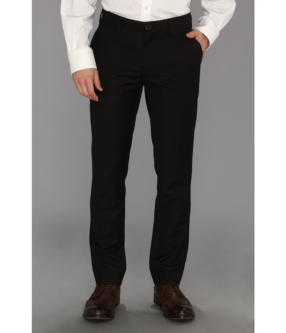 Howe - Solid PJ Pant (Black) Men's Dress Pants