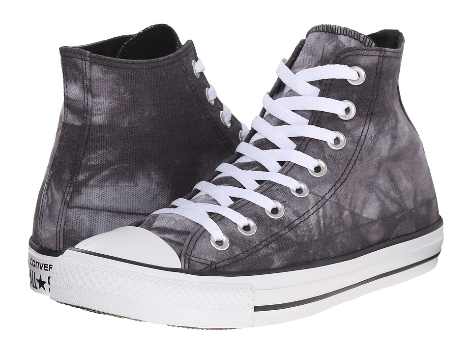Converse - Chuck Taylor All Star Stars Bars Hi (Black/White) Lace up casual Shoes