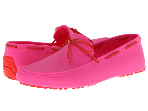 Hunter - Original Driving Shoe (Lipstick Pink) Women