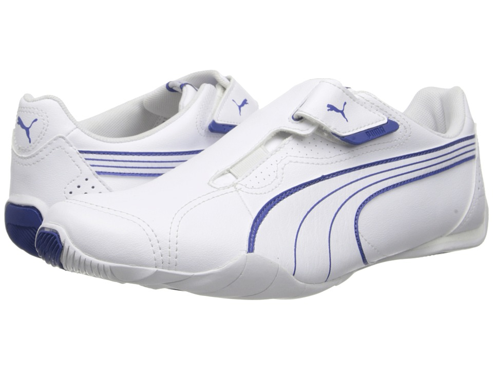 PUMA - Redon Move MMA (White/Monaco Blue) Men's Hook and Loop Shoes