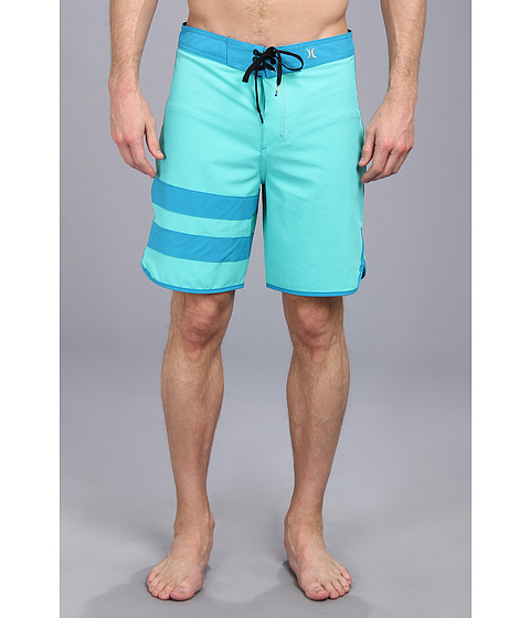 Hurley - Phantom 60 Block Party Boardshort (Bright Aqya) Men's Swimwear