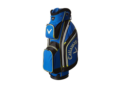 Callaway - Chev Cart Bag (Blue/Yellow/Black) Athletic Sports Equipment