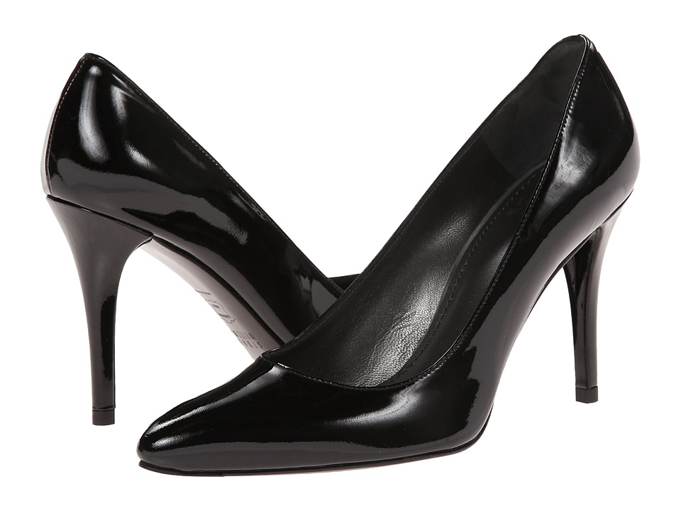 Stuart Weitzman - Power (Black Patent) High Heels