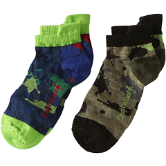 SALE! $11.99 - Save $8 on Smartwool Food Fight 2 Pair Pack (Toddler Little Kid Big Kid) (Chino) Footwear - 39.90% OFF $19.95