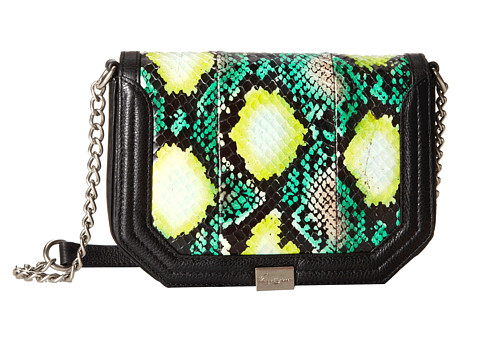 Foley & Corinna - Plated Mini Crossbody (Island Watersnake) Cross Body Handbags