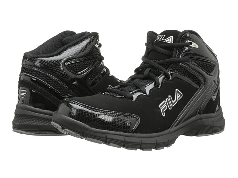Fila - Big Bang (Black/Black/Metallic Silver) Men