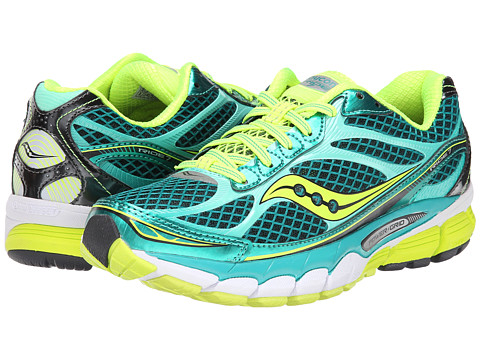 Saucony - Ride 7 (Green/Citron (Int Only)) Women