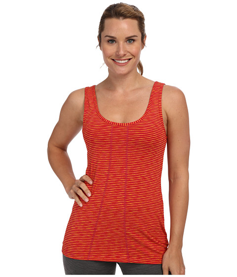 Lole - Fancy Round Neck Tank Top (Red Sea Stripe) Women's Sleeveless