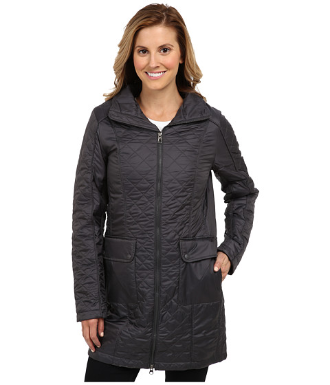 The North Face - Insulated Ruka Parka (Graphite Grey) Women's Coat