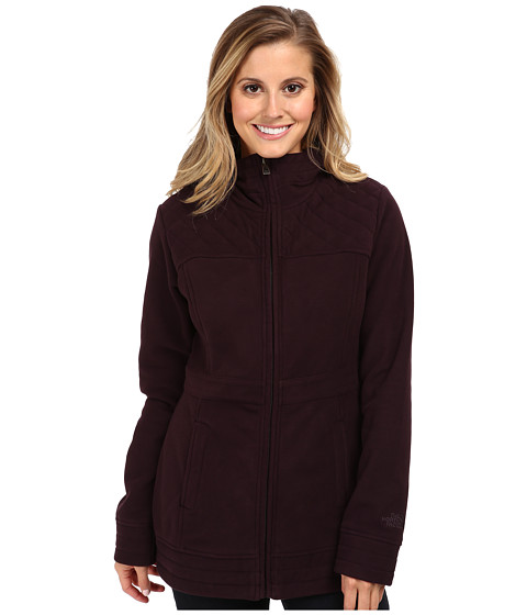 The North Face - Avery Fleece Jacket (Baroque Purple) Women's Coat