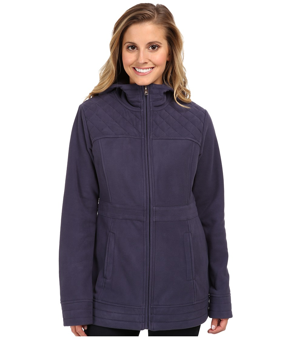 The North Face - Avery Fleece Jacket (Greystone Blue) Women's Coat