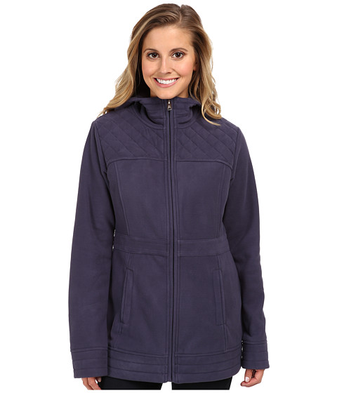 The North Face - Avery Fleece Jacket (Greystone Blue) Women