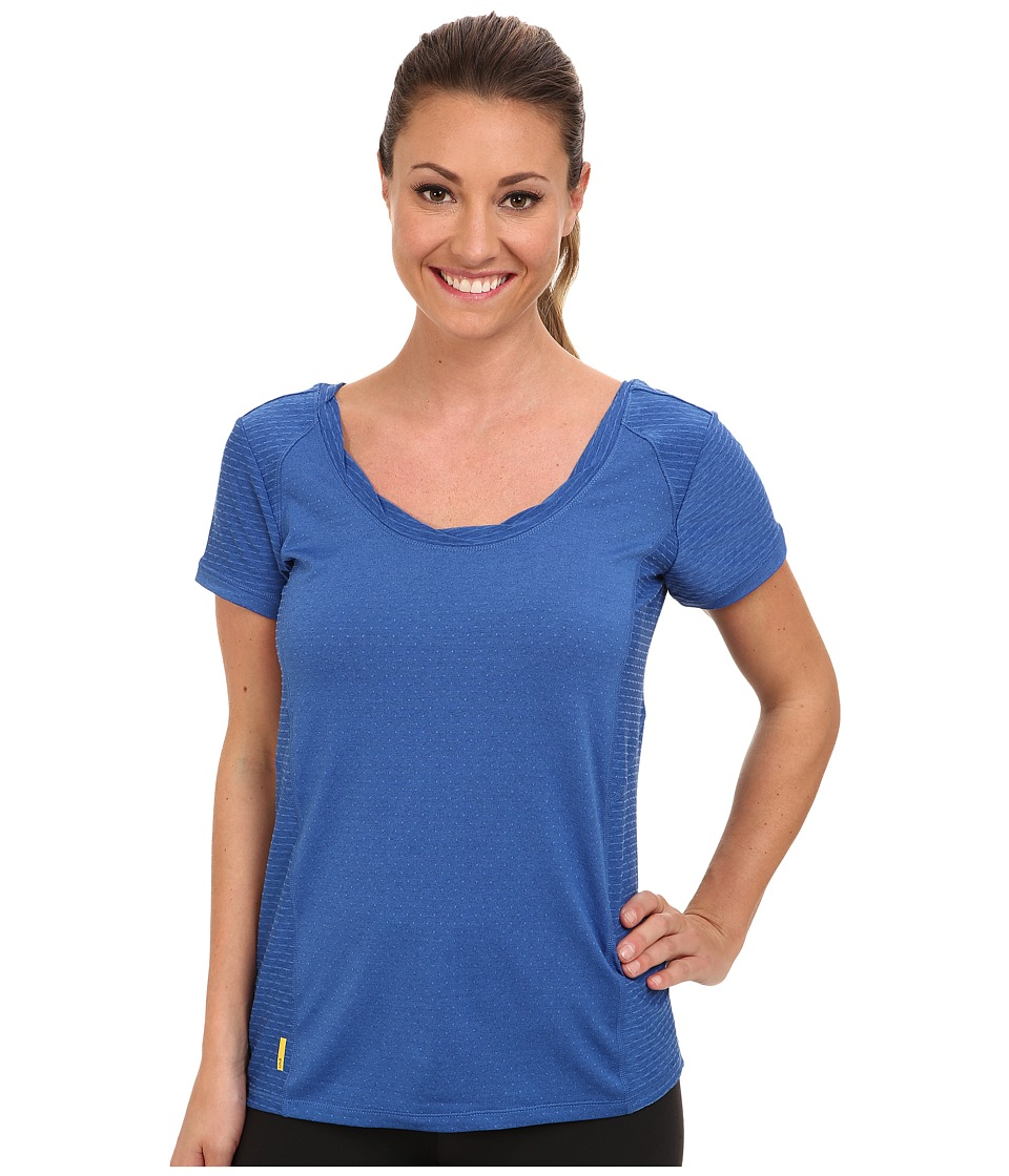 Lole - Drive S/S Tee (Persian Blue) Women's T Shirt