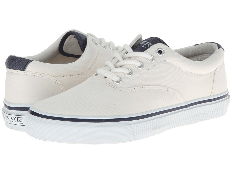 Sperry Top-Sider - Striper Lace (White) Men's Lace up casual Shoes