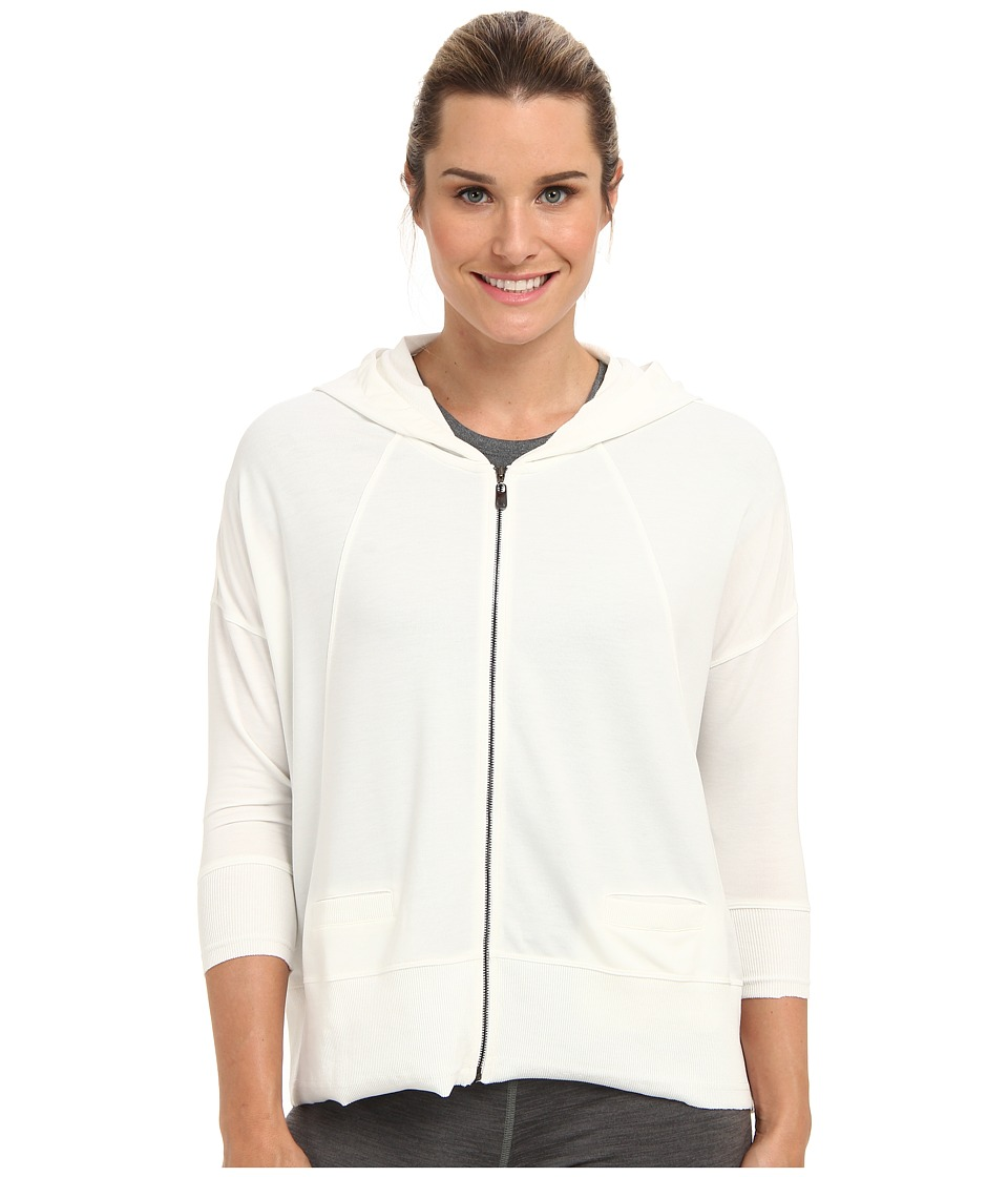 Lole Dharma Full Zip Cardigan (Vanilla) Women