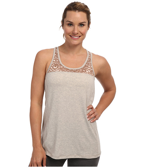 Lole - Savasana 2 Scoop Neck Tank Top (Beige Mix) Women