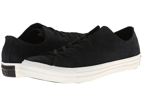 Converse - Chuck Taylor All Star Burnished Suede Ox (Black) Lace up casual Shoes