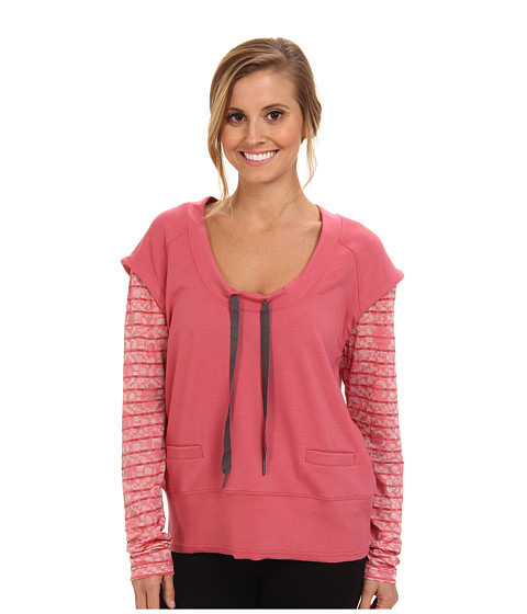 Lole - Malasa Scoop Neck L/S Top (Bouquet) Women's Long Sleeve Pullover
