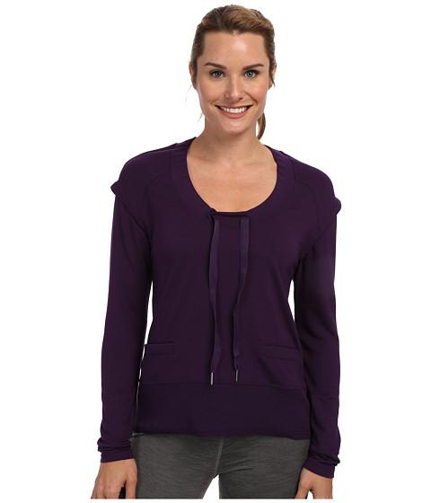 Lole - Malasa Scoop Neck L/S Top (Blackberry) Women's Long Sleeve Pullover