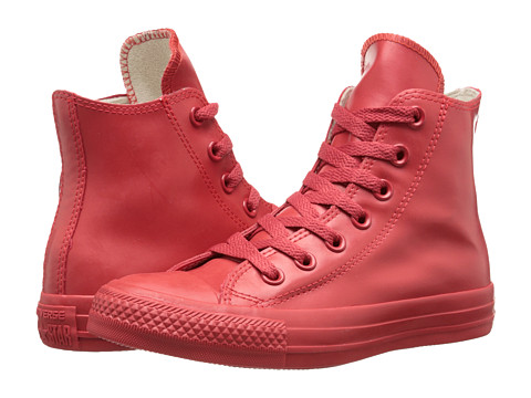 Converse - Chuck Taylor All Star Rubber Hi (Red) Classic Shoes