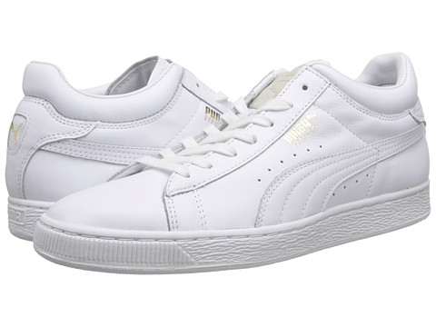 PUMA - Stepper Classic Citi Series (White) Men's Shoes