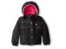 Fila Kids Puffer Jacket (Little Kids) (Black)