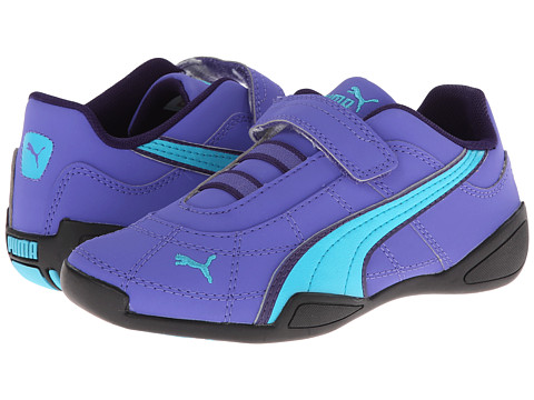 Puma Kids - Tune Cat NBK 2 V (Toddler/Little Kid/Big Kid) (Blue Iris/Scuba Blue/Black) Girls Shoes