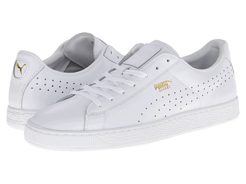 PUMA - Basket Classic Citi Series (White) Shoes