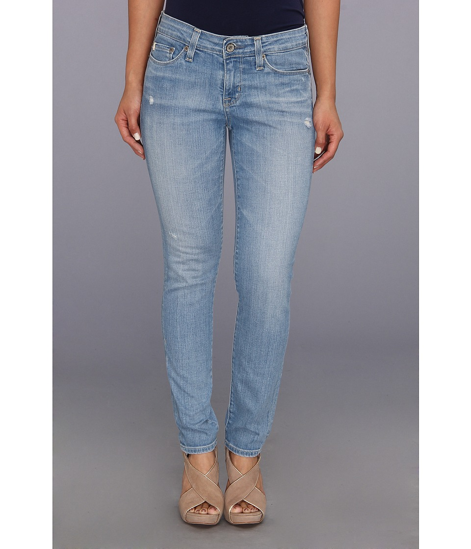 Big Star - Petite Alex Mid Rise Skinny in 20 Year Harbor (20 Year Harbor) Women