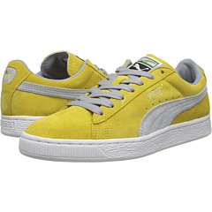Suede Classic (Ceylon Yellow/Quarry) Shoes