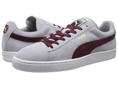PUMA - Suede Classic (Quarry/Zinfandel) Shoes