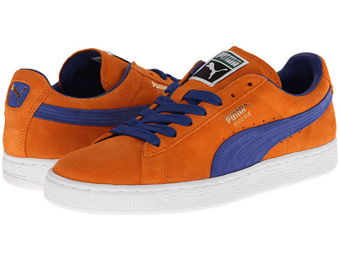 puma suede classic blue orange