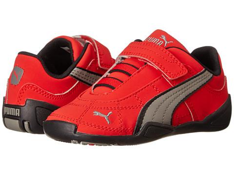 Puma Kids - Tune Cat NBK 2 V (Toddler/Little Kid/Big Kid) (High Risk Red/Steel Gray/Black) Boys Shoes