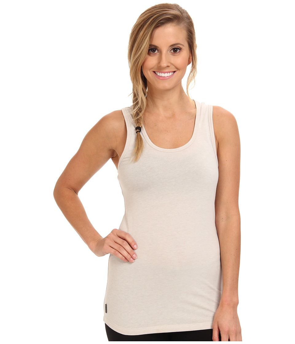Lole - Pinnacle Racer Back Tank Top (Silver Cloud Heather) Women's Sleeveless